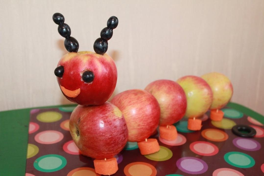 Поделка из яблок простое 233