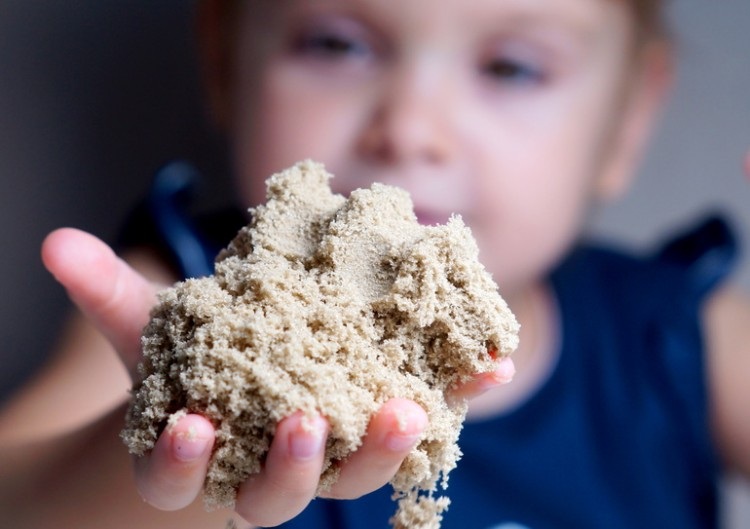 песок для домашней песочницы
