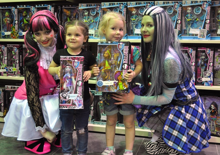 опасны ли куклы Монстр Хай