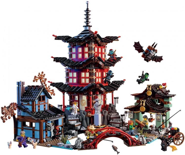 Lego Ninjago Храм Аэроджитцу