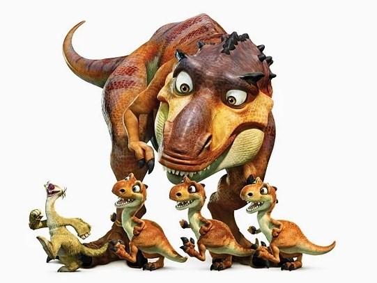 Мультфильмы про динозавров