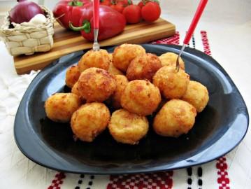 Картофельные крокеты от Паолы Дин