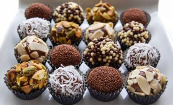Рецепт шоколадных конфет на День Святого Валентина
