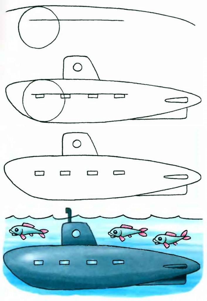 Как нарисовать военную технику