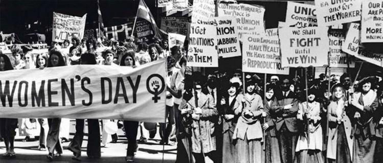 Международный женский день в истории