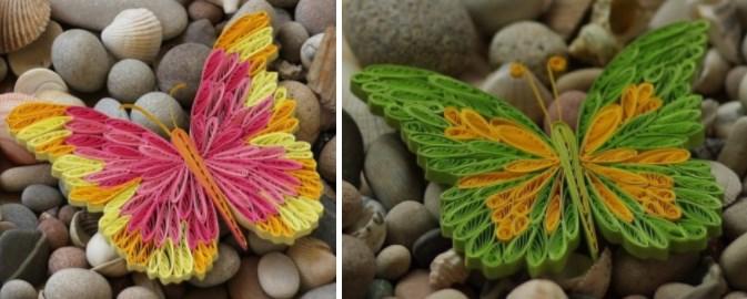 Квиллинг бабочки