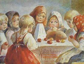 История Пасхи для детей